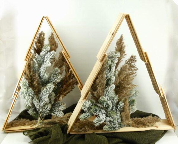 Χριστουγεννιάτικα ξύλινα δέντρα,